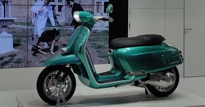 """LambrettaG325 Special xế cổ điển trình làng, Vespa cũng phải """"e dè"""" - 1"""