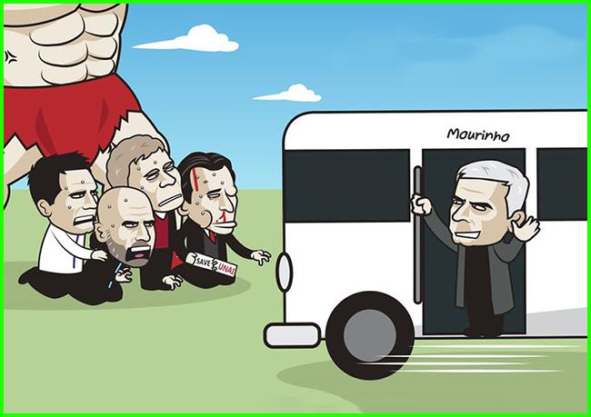 """Mourinho tái xuấtlàm """"náo loạn"""" cả Ngoại hạng Anh."""