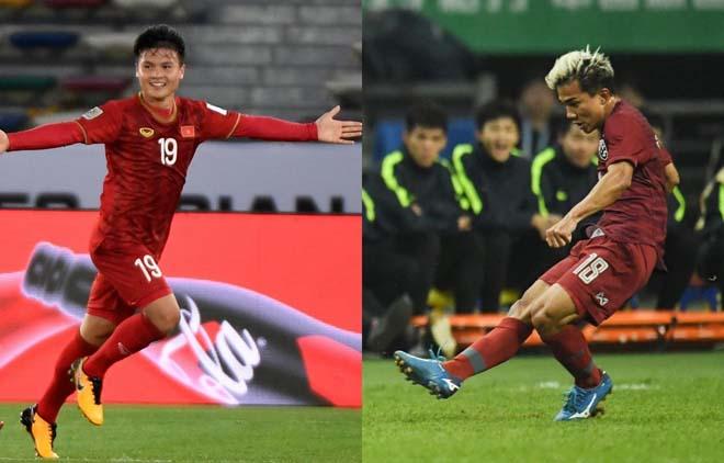 """Quang Hải so tài """"Messi Thái"""" Chanathip: 2 lần bất phân, ai đang nhỉnh hơn? - 1"""