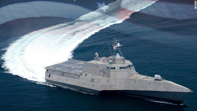 Tình hình Biển Đông mới nhất: Hai tàu chiến Mỹ thách thức yêu sách của TQ - 1