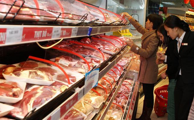 Giá thịt lợn tăng phi mã, khuyến cáo người dân dùng thịt đông lạnh - 1