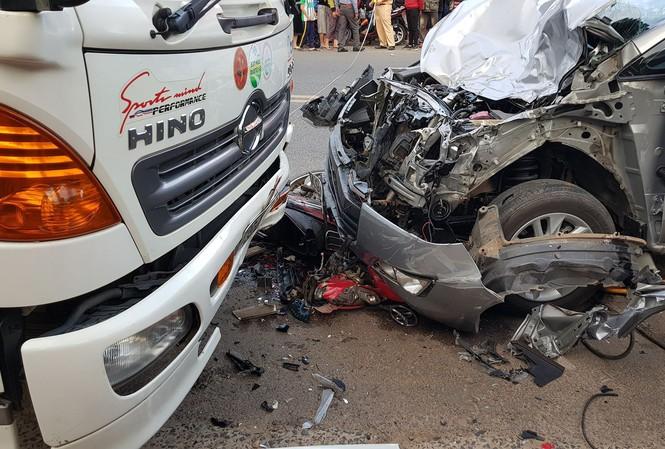 Một thiếu tá quân đội điều khiển ô tô gây tai nạn chết người ở Đà Lạt - 1