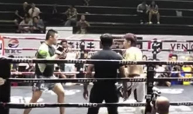 """Từ Hiểu Đông """"ra biển lớn"""" gây choáng: Đấm gục võ sĩ Nhật Bản ở Thái Lan - 1"""