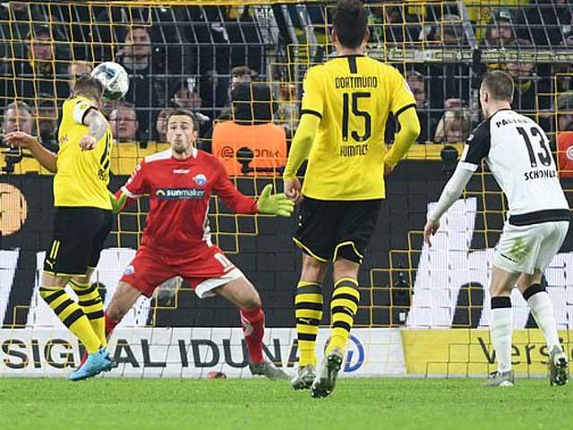 Video highlight trận Dortmund – Padeborn: Dẫn trước 3 bàn vẫn nhận cái kết đắng - 1