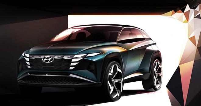 Chiêm ngưỡng Hyundai Tucson thế hệ mới mang ngôn ngữ thiết kế tương lai - 1