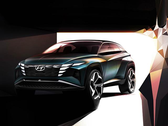 Chiêm ngưỡng Hyundai Tucson thế hệ mới mang ngôn ngữ thiết kế tương lai