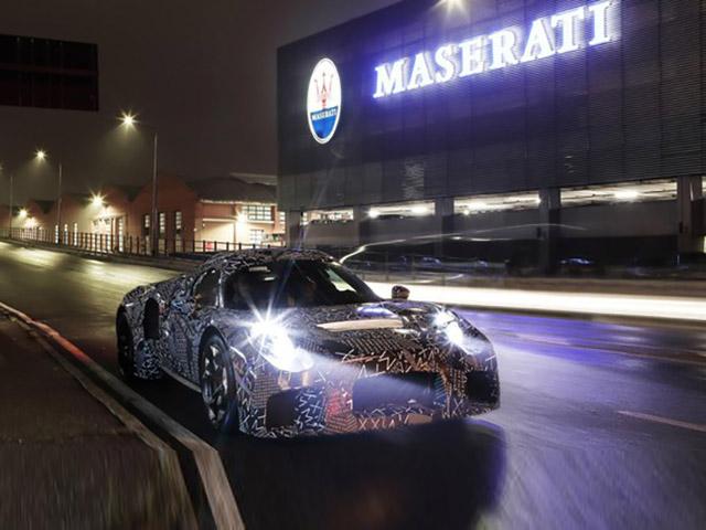 Maserati nhá hàng mẫu xe hoàn toàn mới, mang hệ truyền động do chính họ phát triển