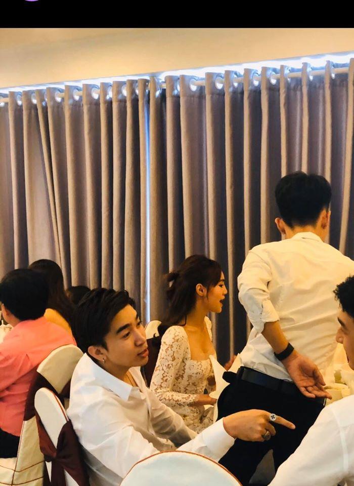 """Ninh Dương Lan Ngọc với """"bạn trai tin đồn"""" bị bắt gặp đi ăn tiệc cưới cùng nhau - 1"""