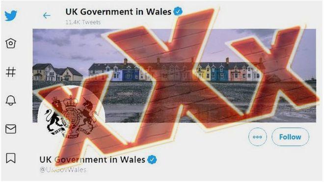 Tin tặc đăng ảnh khiêu dâm lên Twitter của chính phủ Anh - 1