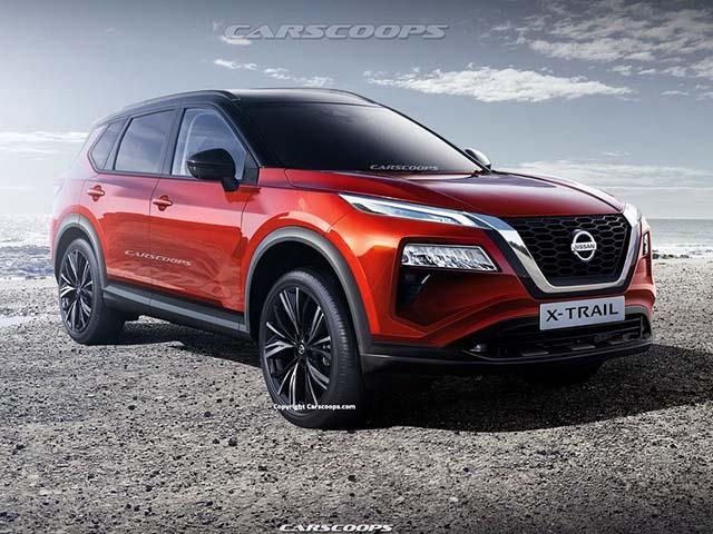 Nissan X-Trail 2021 mang phong cách thiết kế hoàn toàn mới, lộ hình ảnh chạy thử