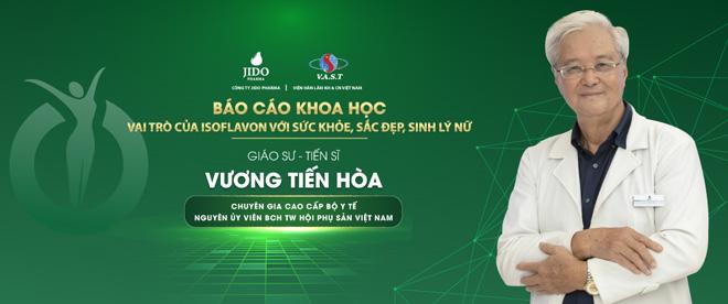 GS.TS Vương Tiến Hòa khẳng định tính ưu việt của Isoflavon trong mầm đậu nành - 1
