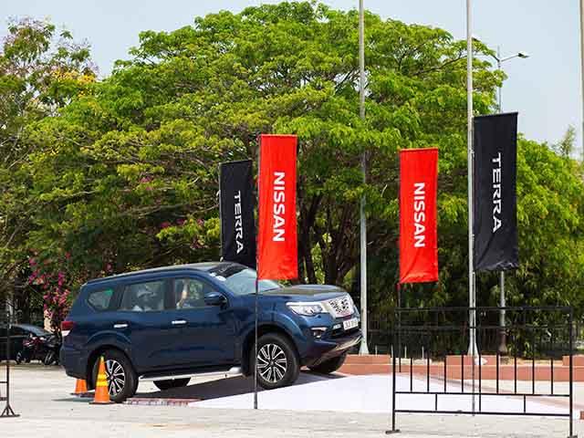 """Nissan Việt Nam tổ chức sự kiện trải nghiệm tính năng """"Chuyển động thông minh"""" trên Nissan Terra, Nissan X-Trail tại Vĩnh Phúc"""