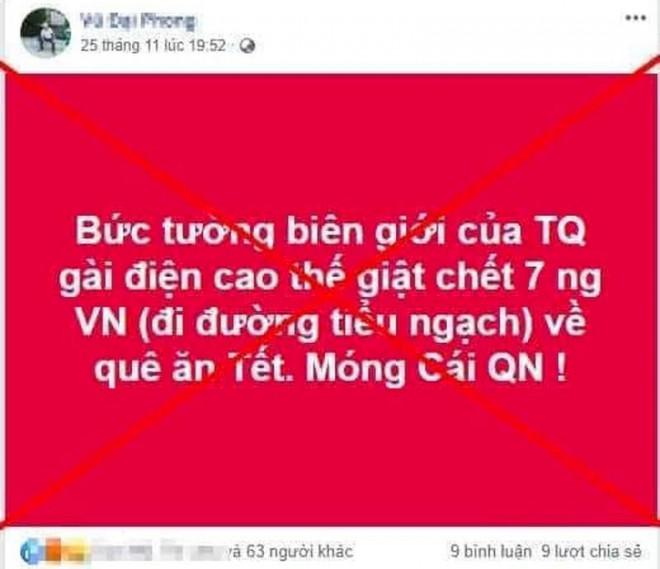 Bác tin 7 người Việt chết vì điện giật ở biên giới Trung Quốc - 1