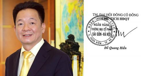 """""""Soi"""" chữ ký của các đại gia ngân hàng Việt - 1"""