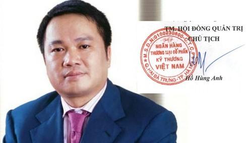 """""""Soi"""" chữ ký của các đại gia ngân hàng Việt - 2"""