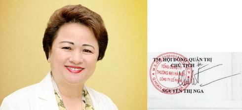 """""""Soi"""" chữ ký của các đại gia ngân hàng Việt - 8"""
