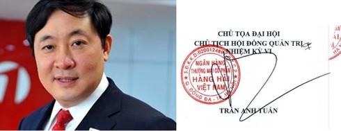 """""""Soi"""" chữ ký của các đại gia ngân hàng Việt - 6"""