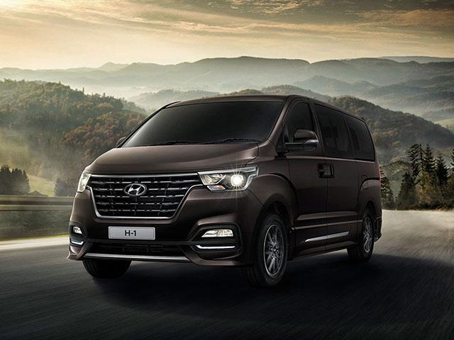 Hyundai giới thiệu dòng xe H1 và Grand Starex phiên bản nâng cấp tại Thái Lan