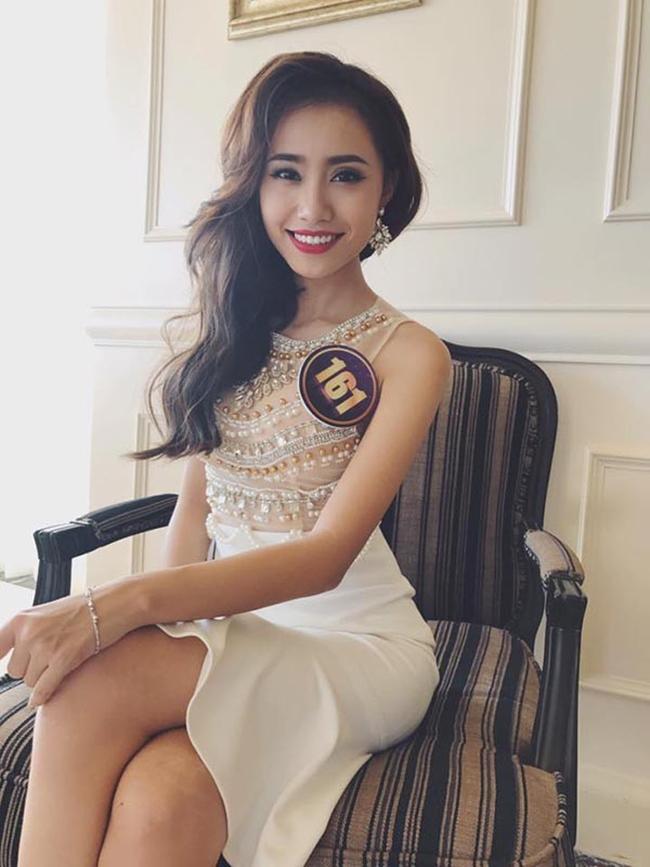 """Năm 2017, Xuân Anh còn nhận được sự quan tâm khi dự thi """"Hoa khôi du lịch Việt Nam"""" và lọt tới Top 12 chung cuộc."""