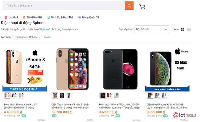 iPhone núp bóng… Bphone, bán giá trên trời dưới đất - 1