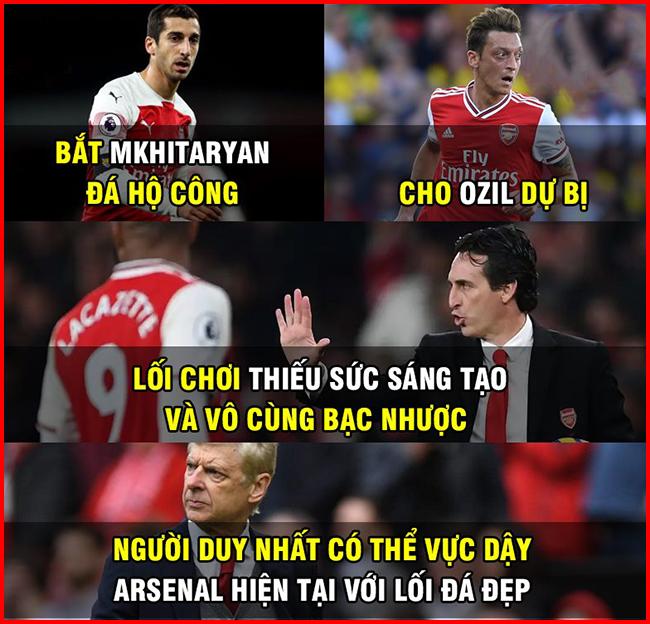 Người duy nhất có thể vực dậy được Arsenal lúc này.