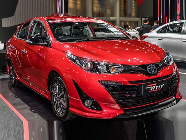 Cận cảnh Toyota Vios động cơ 1.2L vừa ra mắt tại Thái Lan