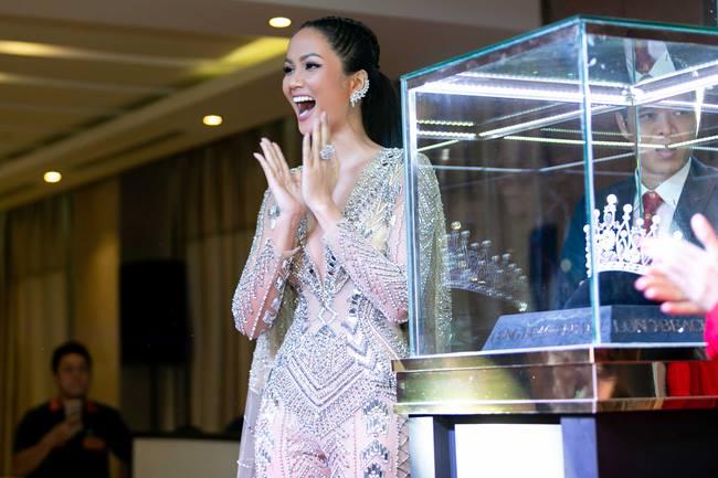 Hé lộ vương miện của tân Hoa hậu Hoàn vũ Việt Nam 2019 - 1