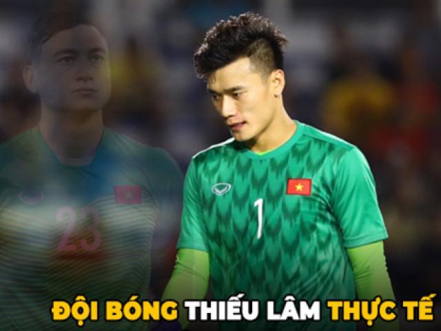 Fan nữ cổ vũ U22 Việt Nam cần biết: Vì sao Tiến Dũng thay Văn Lâm dự Sea Games?