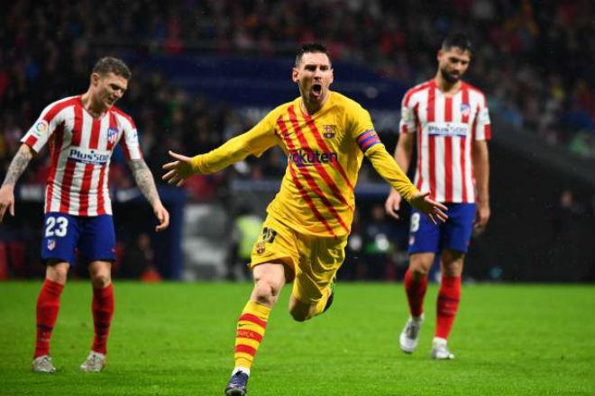 """Messi lập siêu phẩm đưa Barca soán ngôi Real: Kỳ tích chờ ẵm """"Bóng Vàng"""" - 1"""