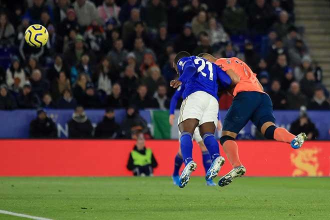 Video highlight trận Leicester City - Everton: Ngược dòng phút bù giờ, vỡ òa vì VAR - 1