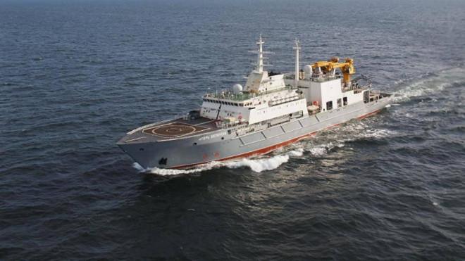Tàu cứu hộ Igor Belousov đến Cam Ranh, Việt Nam để tham gia tập trận - 1