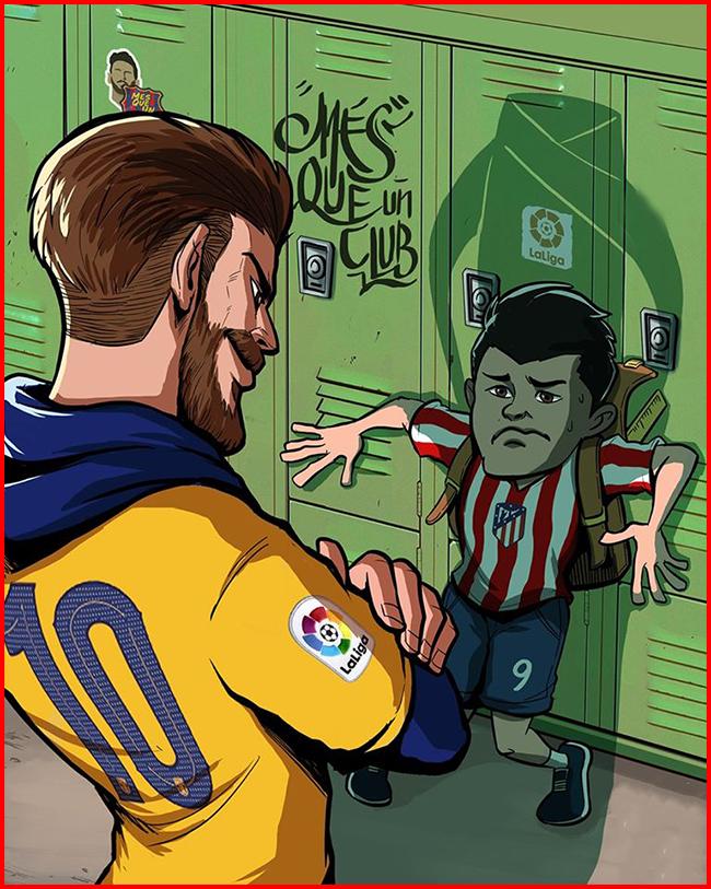 """Lúc Barca khó khăn Messi luôn có mặt đúng lúc để """"giải cứu""""."""