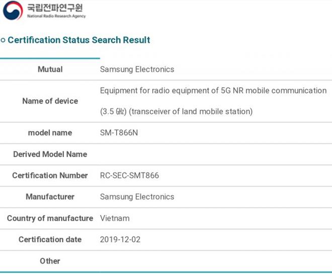 "Galaxy Tab S6 5G chuẩn bị ""lên kệ"", đánh bại iPad Pro 11 inch - 1"
