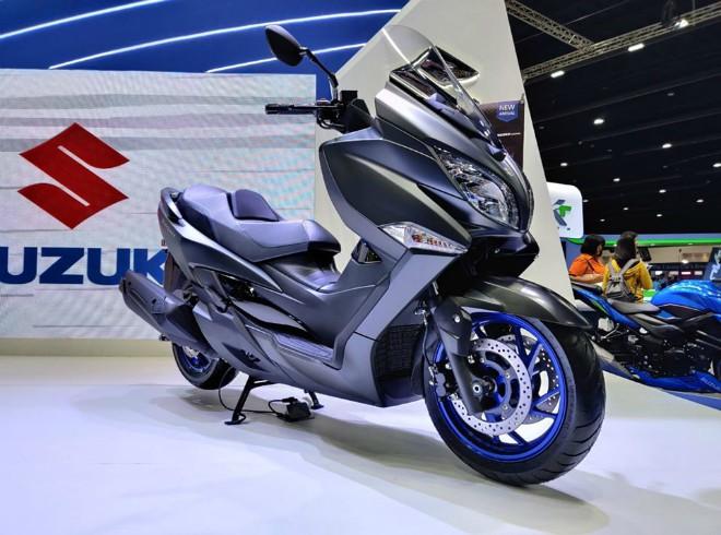 Hoành tráng xe ga cỡ lớn Suzuki Burgman 400 giá 164 triệu đồng - 1