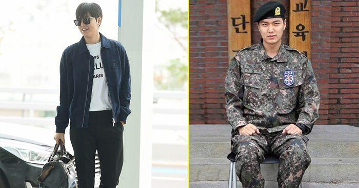 Lee Min Ho quá đẹp trai sau khi xuất ngũ khiến fan nữ điêu đứng - 1