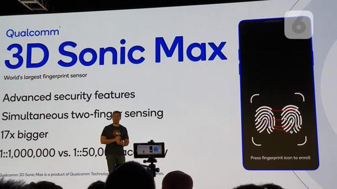 Sức mạnh cảm biến vân tay siêu âm mới từ Qualcomm khiến Apple thèm muốn - 1