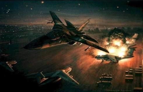 Mỹ chỉ mất 11 phút để hủy diệt hoàn toàn 5 căn cứ quân sự lớn của Libya - 1
