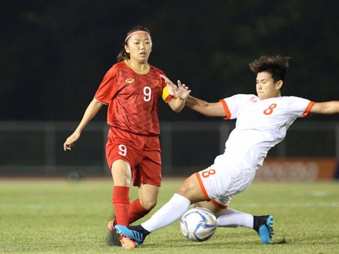 Video highlight trận ĐT nữ Việt Nam - Philippines: Đẳng cấp Tuyết Dung, vé vàng chung kết - 1