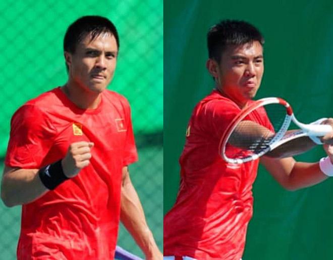 Kỳ tích lịch sử tennis Việt Nam: Hoàng Nam, Daniel Nguyễn vào chung kết SEA Games - 1