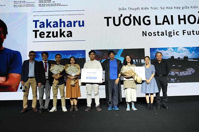Những ý tưởng kiến trúc xanh của tài năng trẻ Việt Nam được Kts Takaharu Tezuka tán thưởng - 1