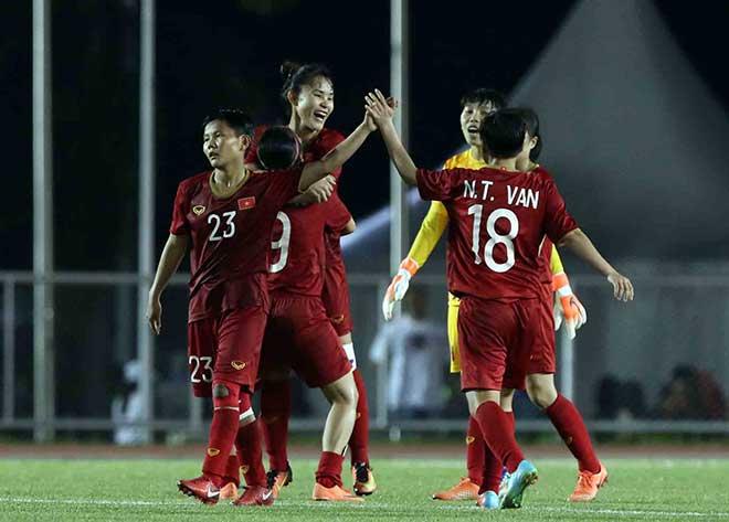 ĐT nữ Việt Nam ngây ngất đá chung kết SEA Games: 3,5 tỷ đồng mừng công, chờ hạ Thái Lan - 1