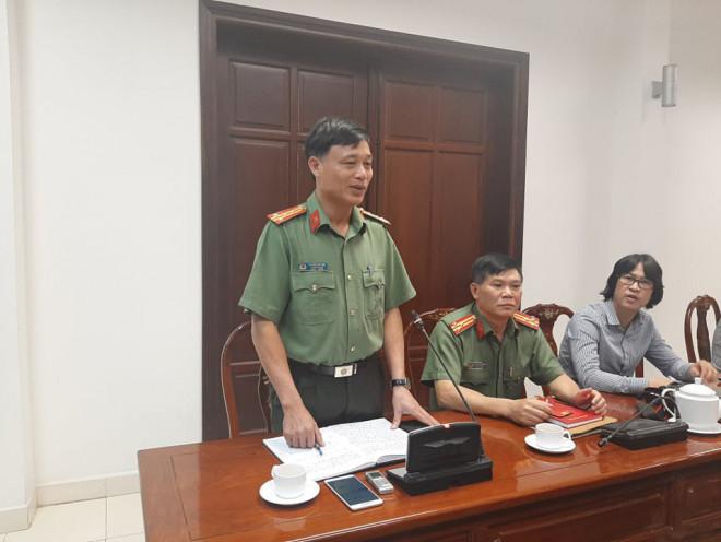 """Công an Đồng Nai thông tin chính thức vụ CSGT tố  """"sếp"""" bảo kê xe quá tải - 1"""