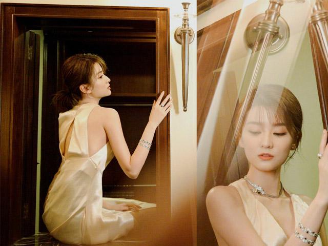 """""""Công chúa 9X Thượng Hải"""" giàu nhất showbiz Trung Quốc đẹp bởi kiểu """"con nhà tỷ phú"""""""