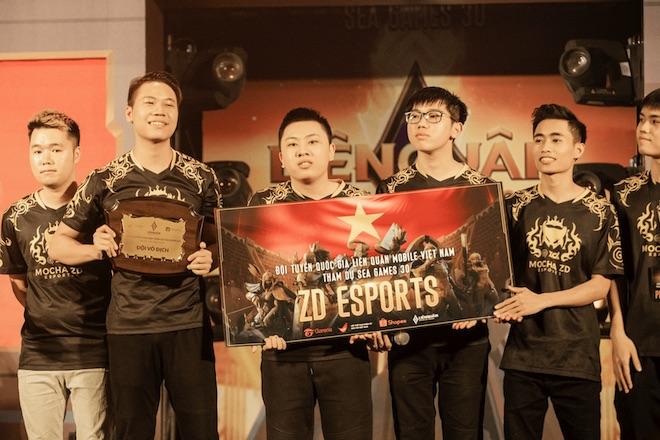 Lịch thi đấu Liên Quân Mobile của đại diện Việt Nam tại SEA Games 30 - 1