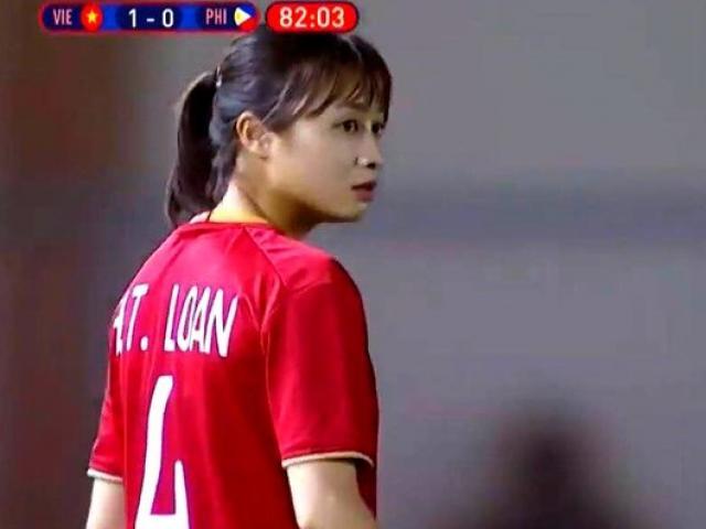 Nữ hậu vệ ĐT Việt Nam xinh đẹp gây thương nhớ triệu fan