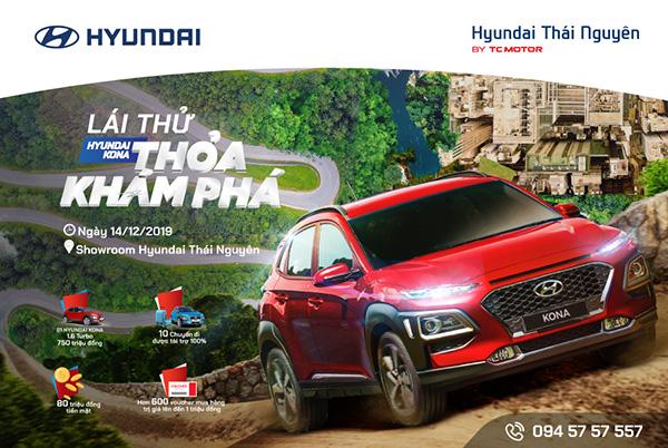 """Cơ hội trải nghiệm """"cầm lái"""" Kona và các dòng xe khác của Hyundai - 1"""