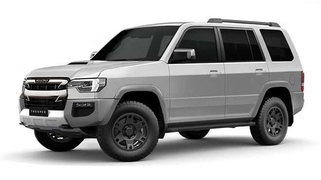 Isuzu nhiều khả năng hồi sinh dòng xe SUV cỡ lớn Trooper - 1
