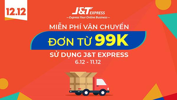 J&T Express miễn phí vận chuyển cho đơn hàng từ 99k - 1