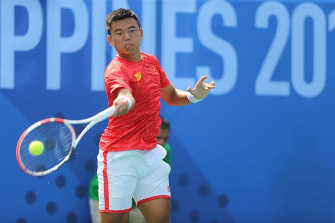 Lý Hoàng Nam lấy HCV, tennis Việt Nam làm nên lịch sử SEA Games - 1