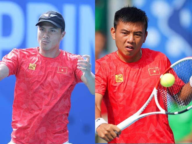 Video tennis Hoàng Nam - Daniel Cao Nguyễn: Bẻ break thần sầu, kỳ tích HCV (chung kết SEA Games) - 1